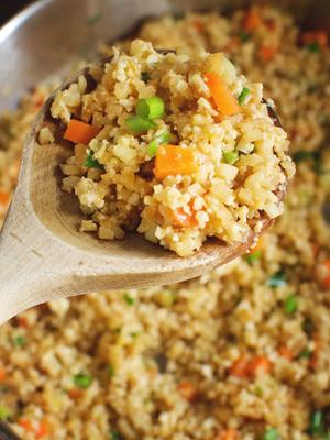 Keto Friendly Cauliflower Fried Rice