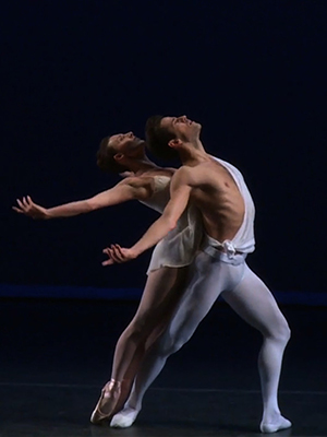 Dancers Tiler Peck and Robert Fairchild on Their Choreographed Romance
