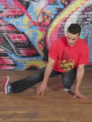 How to Do B-Boy Reverse Helicopter Footwork