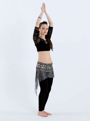 How to Do Belly Dance Chest Lifts