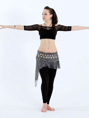 How to Do Belly Dance Shoulder Isolations and Shoulder Shimmy