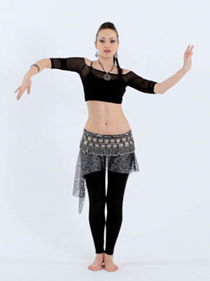 How to Do the Belly Dance Snake Arms Move